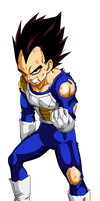 Colored 011 - Vegeta 004 by VICDBZ