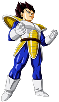 Colored 054 - Vegeta 015 by VICDBZ