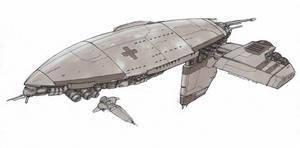 Hospital Ship by Orpheus7