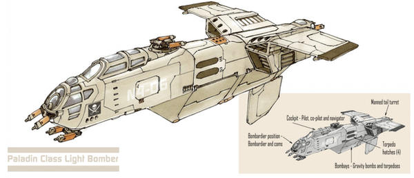 Paladin Class Bomber by Orpheus7