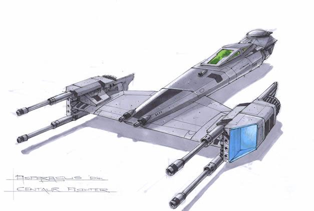 Centaur Fighter by Orpheus7
