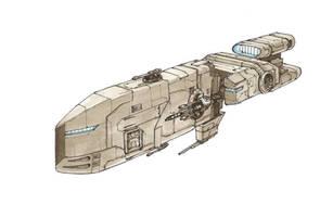 Scythe Class Corvette by Orpheus7