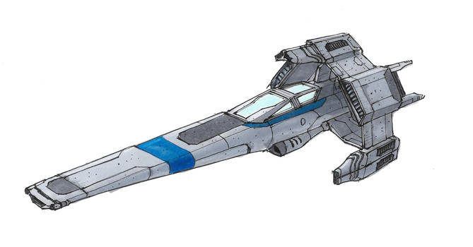 Comet Fighter by Orpheus7