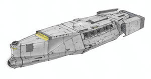 Southern Cross Class Frigate by Orpheus7