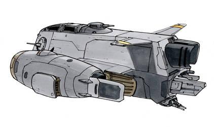 Stub Bomber (Rear)