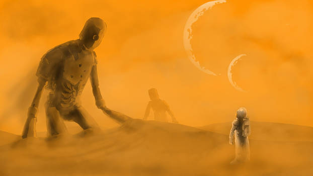 Robots in Sand
