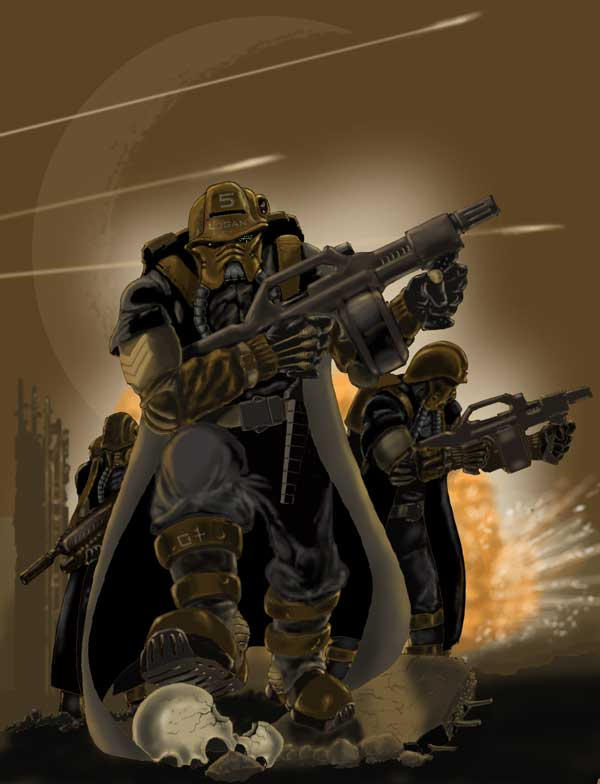 Soldiers by Orpheus7