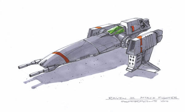Raven II Class Grunt Fighter by Orpheus7