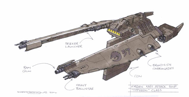 Fast Attack Ship by Orpheus7