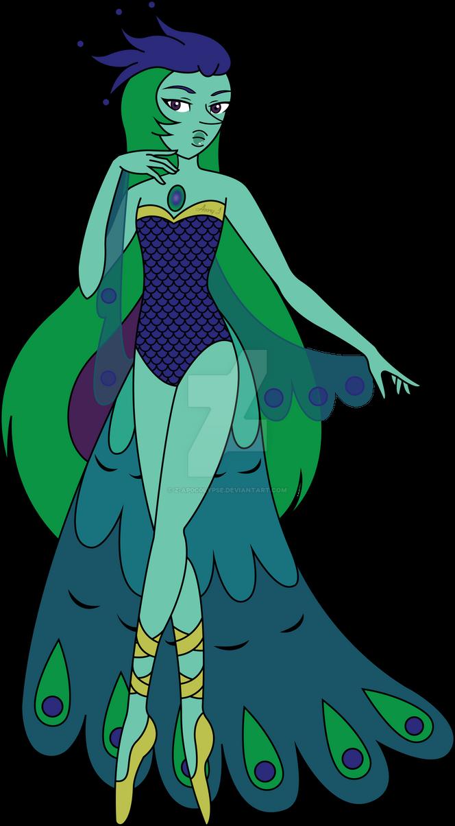 Peacock Pearl by Z-Ap0c0lypse