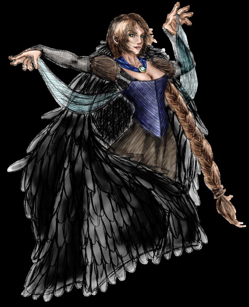 Black Bird by fairygodpiggy