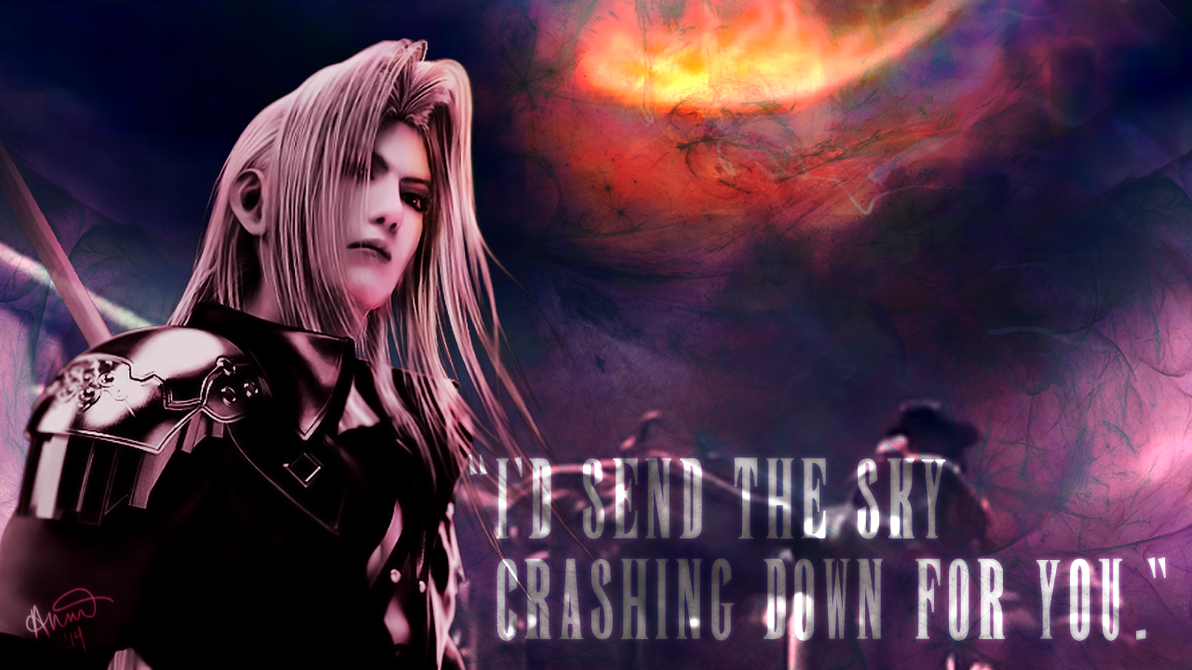 Final Fantasy Valentine - Sephiroth by fairygodpiggy