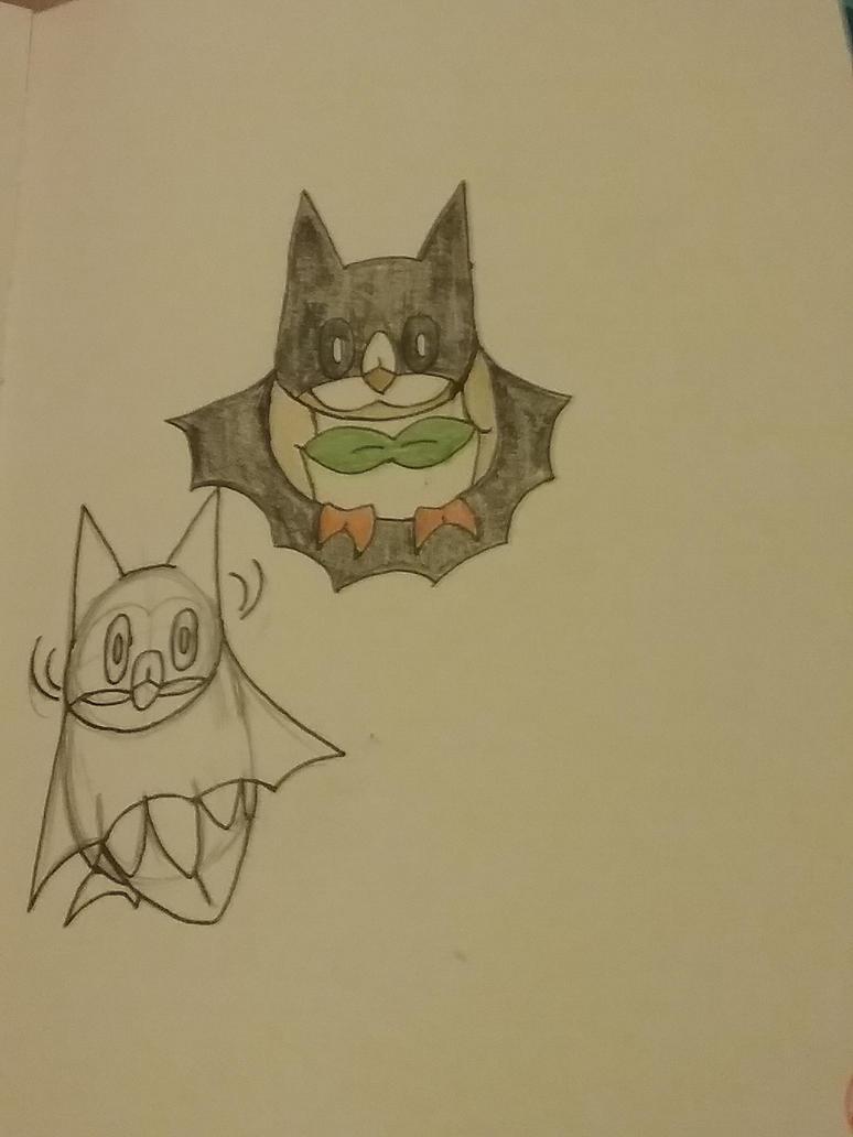 Bat Owl by Razorwingproject201