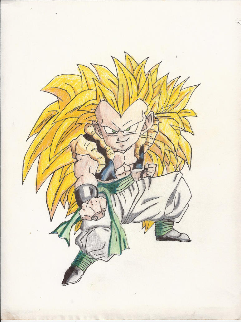 Super Saiyan 3 Gotenks in Color by Very-Lazy-Artist on ...