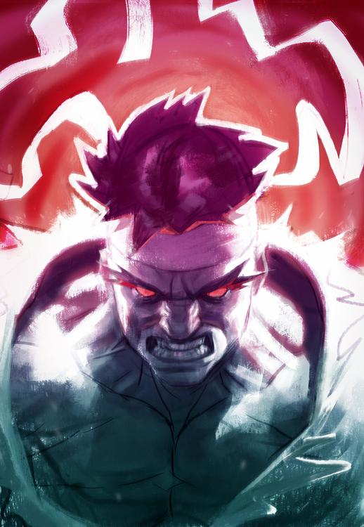 Raging Ryu by matjosh