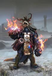Dragonman by matjosh