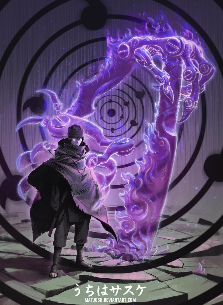 Uchiha sasuke art 8