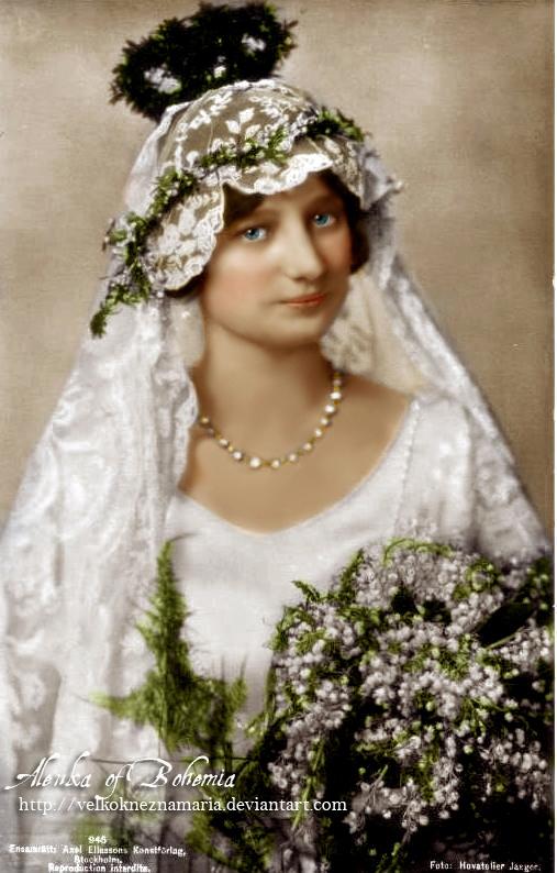 Wedding Dresses  Belgium : Princess astrid as bride by velkokneznamaria on deviantart