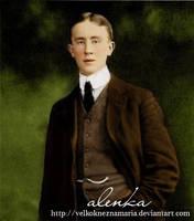 J.R.R. Tolkien by VelkokneznaMaria