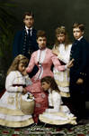 Alexandra and her children