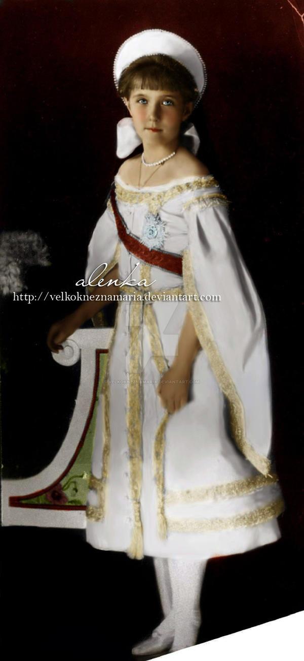 Her Highness Anastasia by VelkokneznaMaria