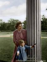 Elizabeth with Charles