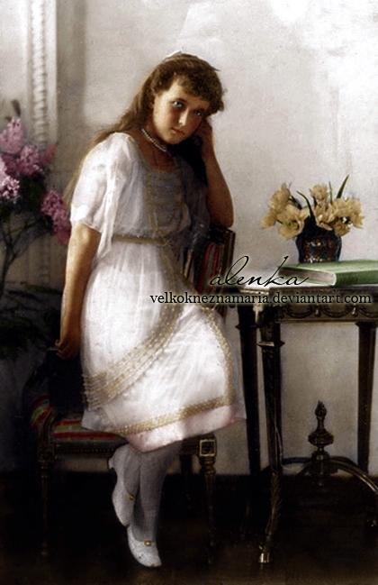 Legendary Anastasia by VelkokneznaMaria