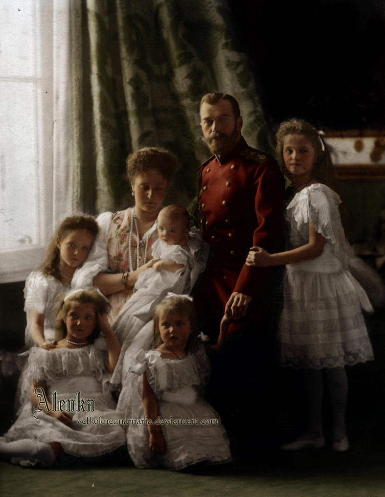 Romantika sacuvana od zaborava... The_holiest__the_purest_family_by_velkokneznamaria-d2ymykm