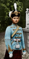 Olga in Hussar uniform by VelkokneznaMaria
