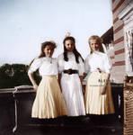 Olga, Tatiana and Irina