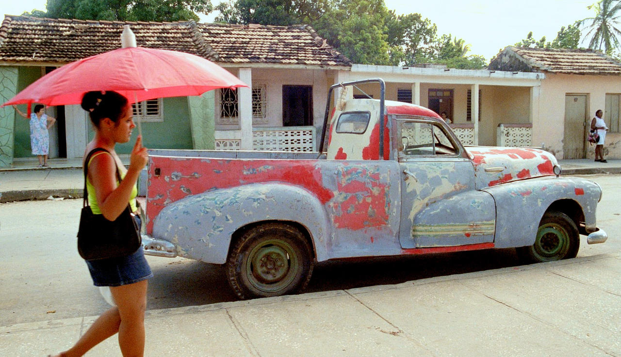 Chevrolet pick up oldtimer by