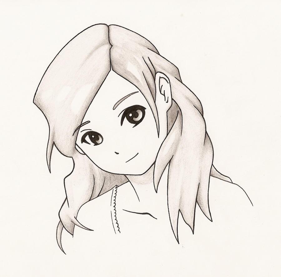 Anime girl smile by jaldridge1 on DeviantArt  How To Draw An Anime Smile