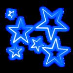 Risultati immagini per blue stars png