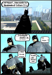 Batman is a busy man ... by LetsGetAsmileNow