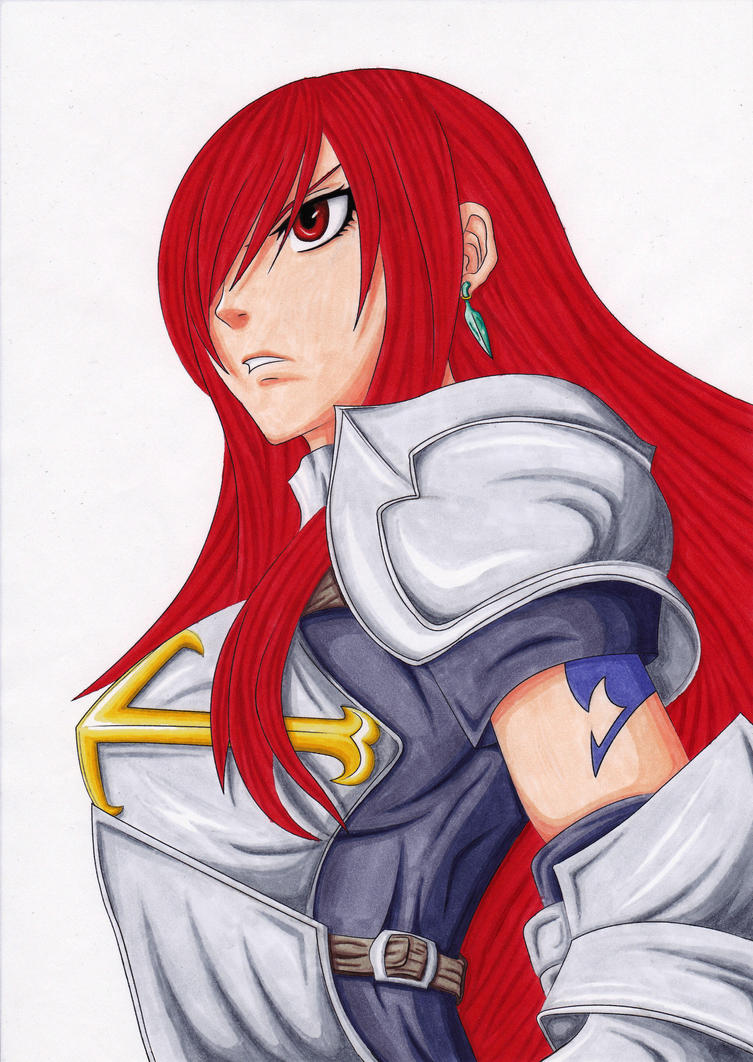 Erza Scarlet 284 COPIC by TobeyD