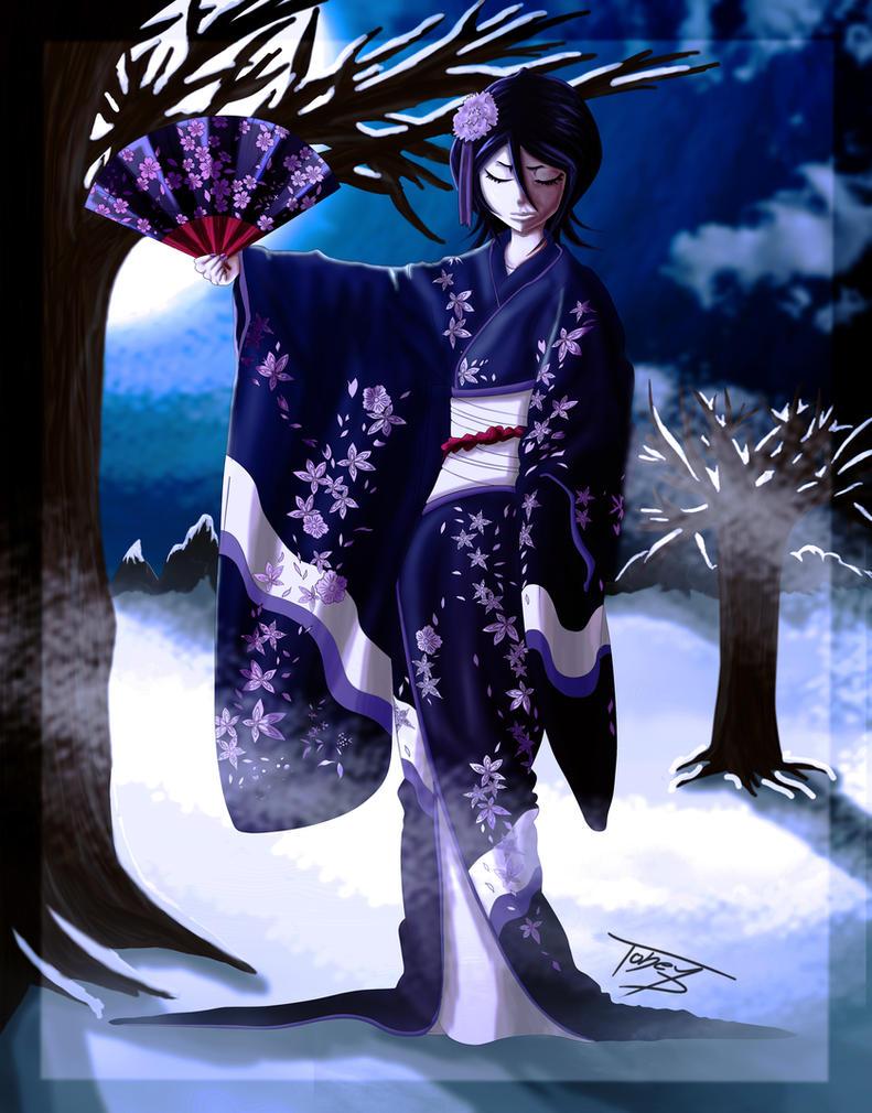 Rukia Kuchiki by TobeyD