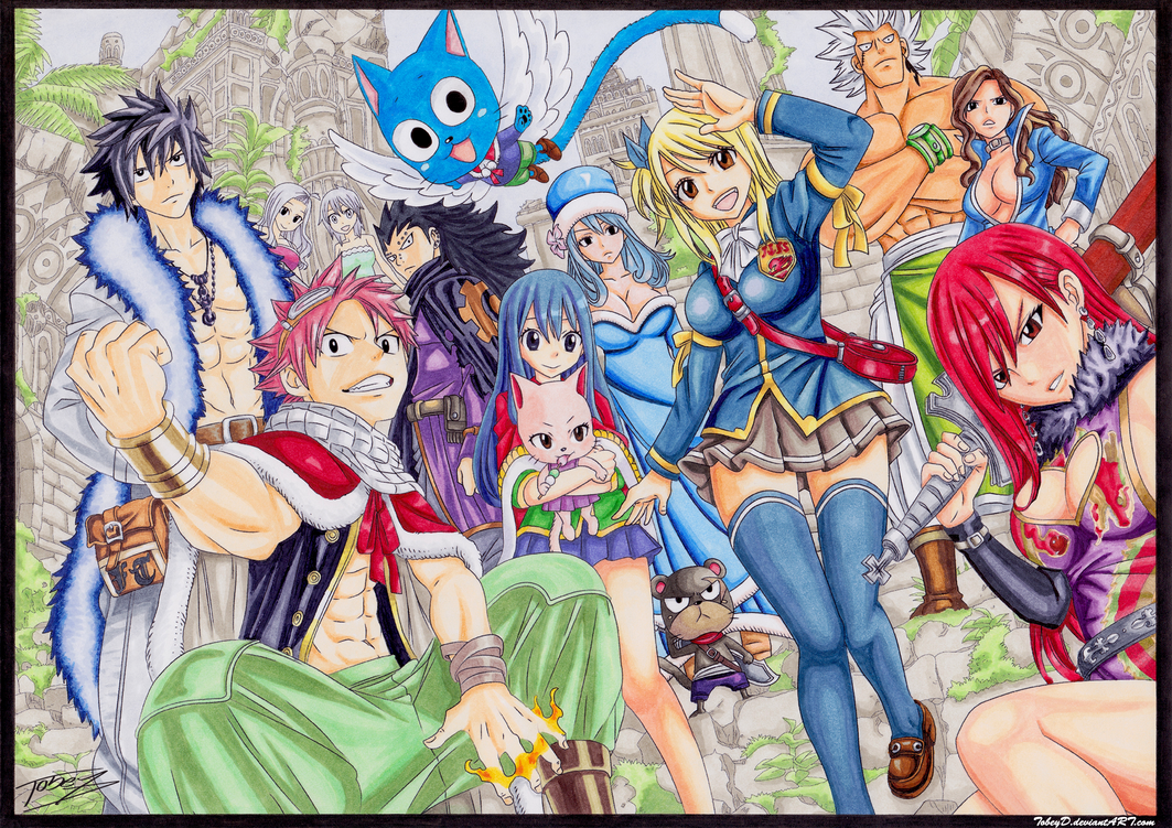 Fairy Tail by TobeyD