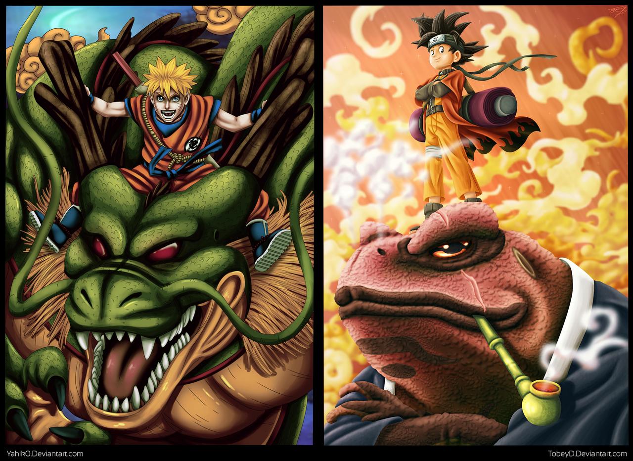 Collab: Naruto - Son Goku by TobeyD