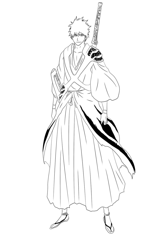 Ichigo 582 - Lineart by TobeyD