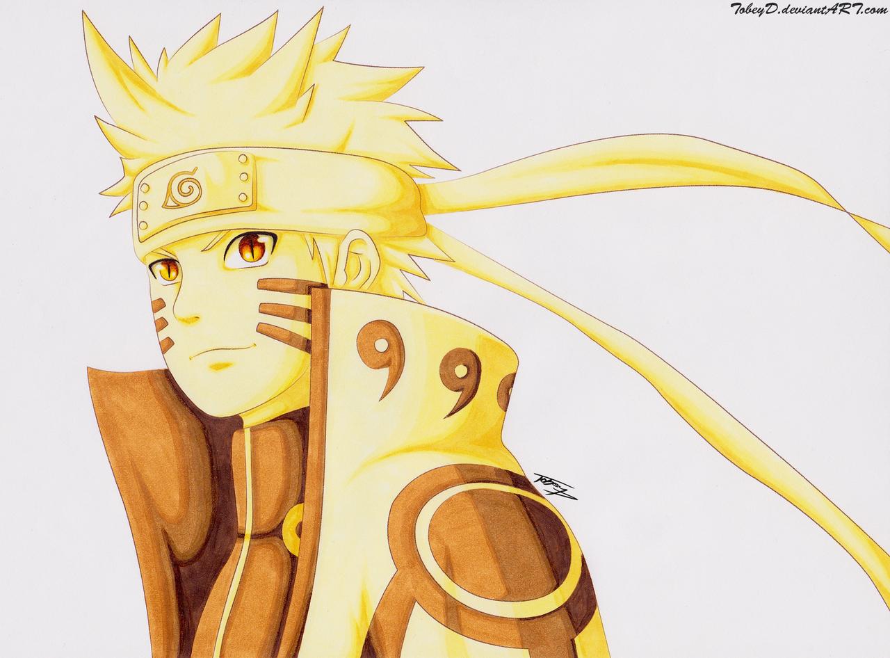Naruto Bijuu Mode by TobeyD on DeviantArt
