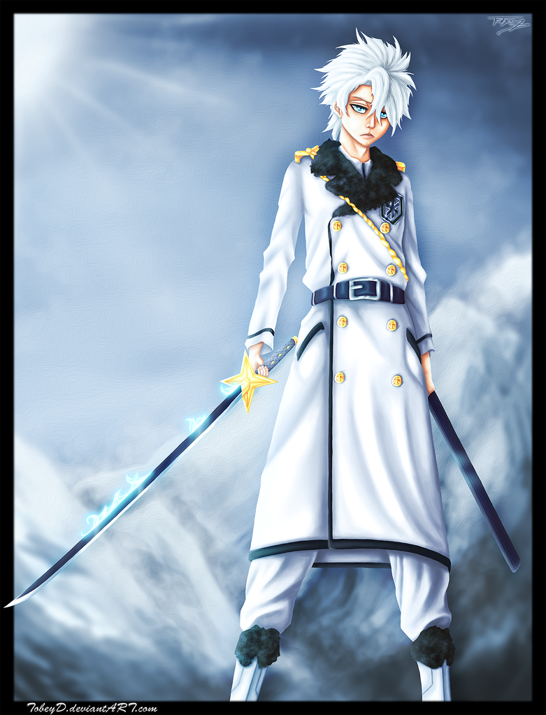 Captain Hitsugaya by TobeyD