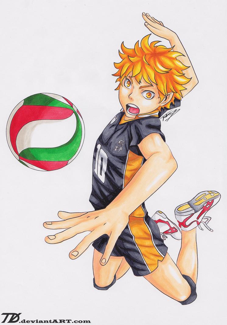 Hinata Shouyou - Haikyuu!! by TobeyD on DeviantArt