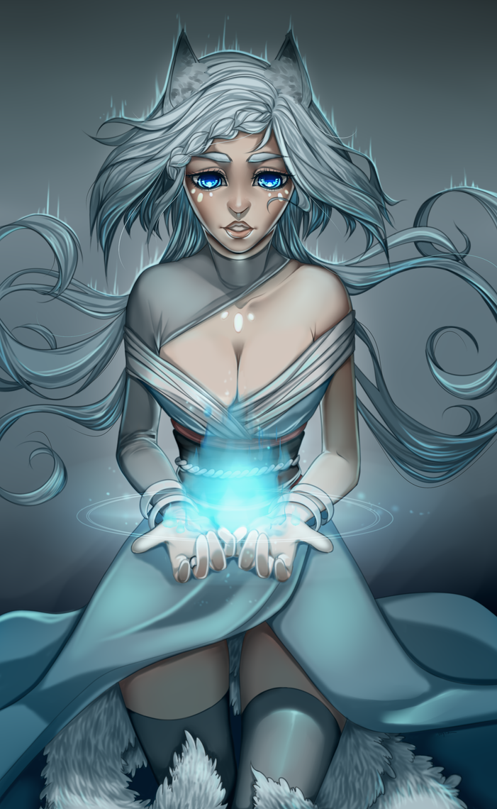 Spirit child by Shirazen