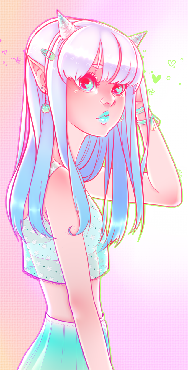 Pastel baby by Shirazen
