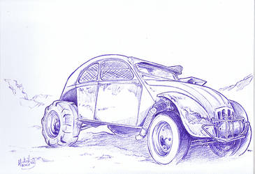 2cv Mad Max