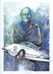 Fantomas Flying Car
