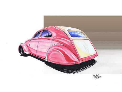 2cv Hotrod