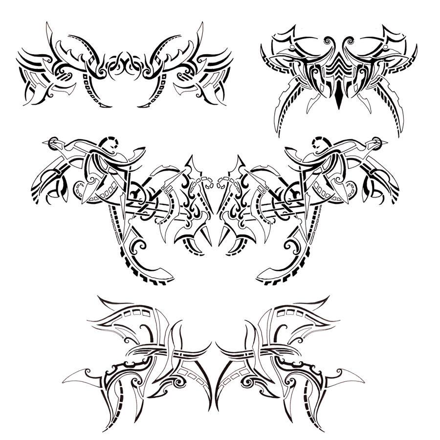 Tattoo Designs 26, Start Of by dannydevil