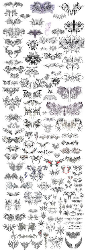 giant tattoo sheet. of doom.