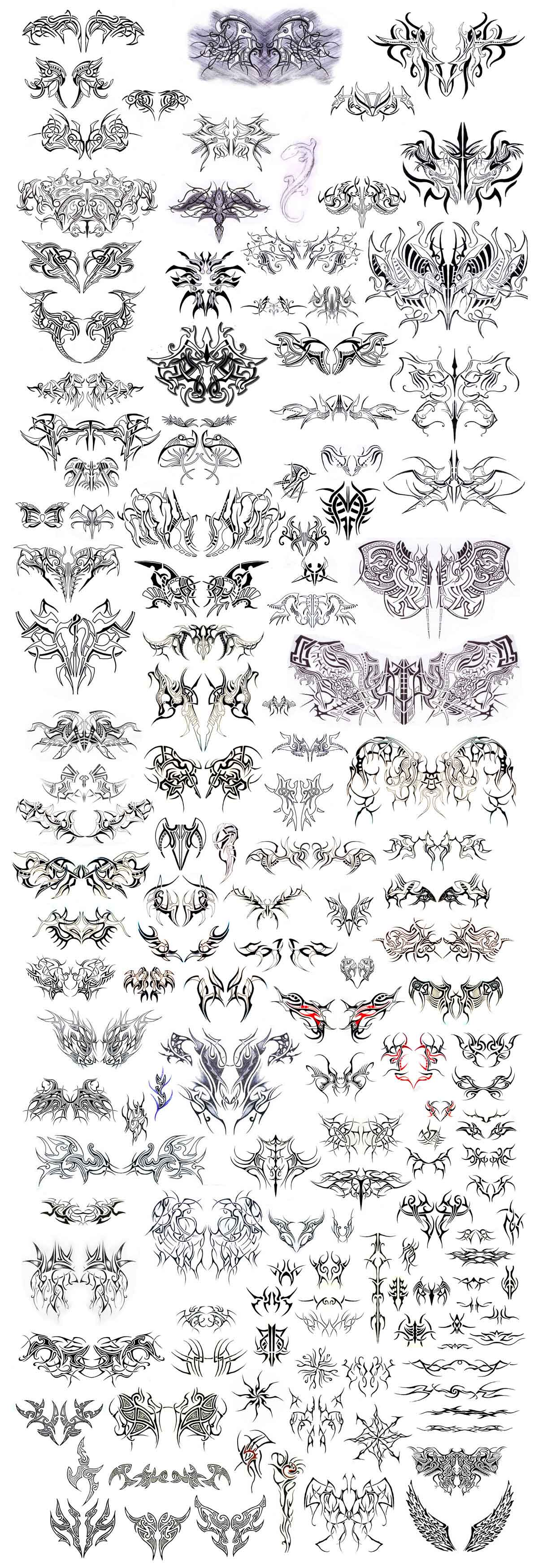 25 000 tattoo flash designs stencils premium set dvd ebay. Black Bedroom Furniture Sets. Home Design Ideas